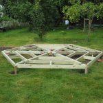Nieuw: Frame voor schroeffundering, geen zandbed nodig