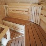 zitbanken van speciaal hout